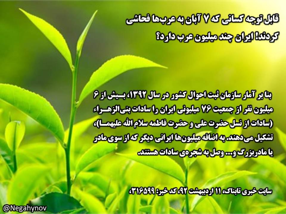 سادات ایران - نه به نژادپرستی